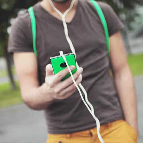 Het streamen van muziek