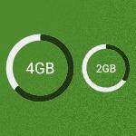 Nederlanders kiezen steeds grotere databundels