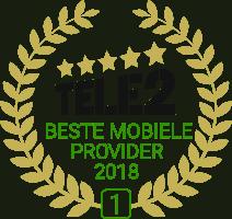 Nominaties beste mobiele provider van 2019